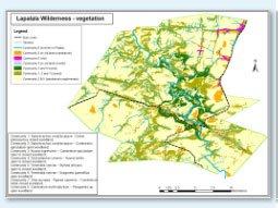 Lapalala vegetation map